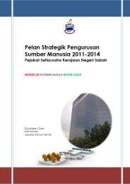 Pelan Strategik Pengurusan Sumber Manusia 2011-2014 - Sabah