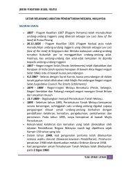 Pelan Operasi Latihan - Jabatan Pendaftaran Negara Malaysia