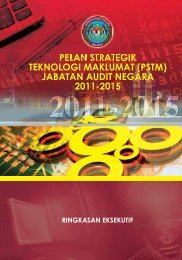 pelan strategik teknologi maklumat (pstm) - Jabatan Audit Negara