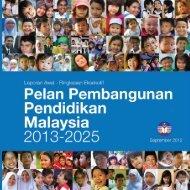 Laporan Awal Pelan Pembangunan Pendidikan 2013-2025