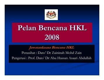 Pelan Bencana HKL 2008 - Hospital Kuala Lumpur