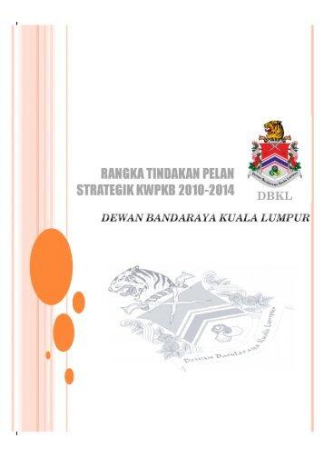 Rangka Pelan Strategik - Dewan Bandaraya Kuala Lumpur
