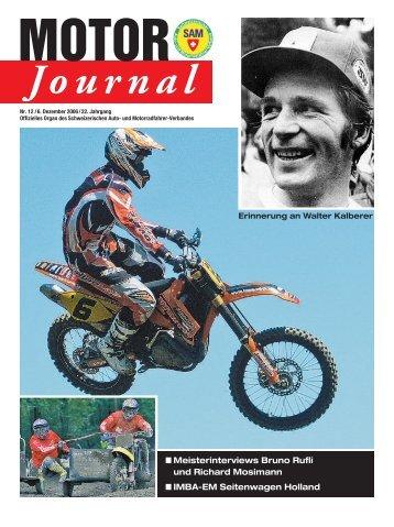 MOTOR Journal - SAM - Schweizerischer Auto