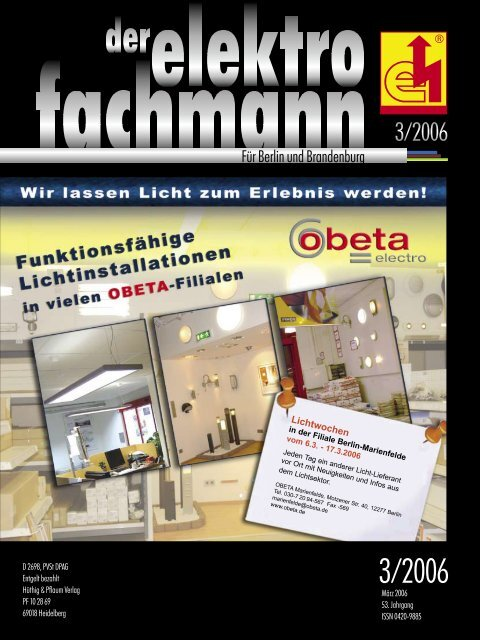 Für Berlin und Brandenburg - Elektro-Innung Berlin