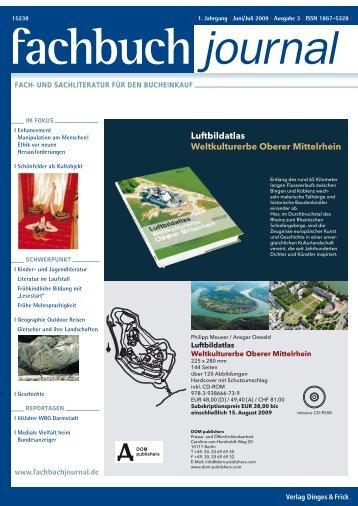 Luftbildatlas Weltkulturerbe Oberer Mittelrhein - Fachbuch-Journal