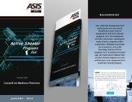 Active Shooter Programs Poll - ASIS International