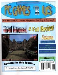 PC Games 'R Us - Elliot M. Pinkus