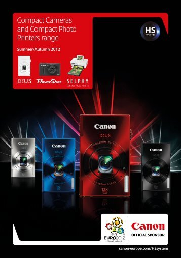 Compact Cameras and Compact Photo Printers range