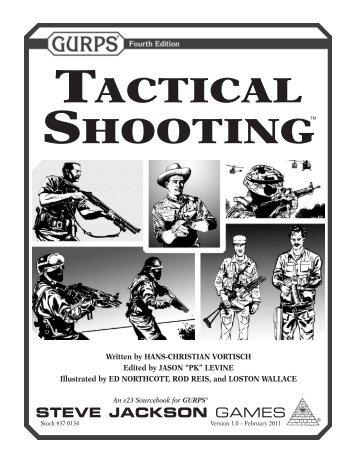 GURPS Tactical Shooting - e23 - Steve Jackson Games
