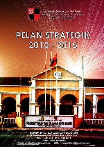Pelan Strategik PTJKB 2010-2015 - Pejabat Tanah Dan Jajahan ...