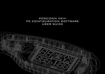 POSEIDON MKVI PC CONFIGURATION SOFTWARE USER GUIDE