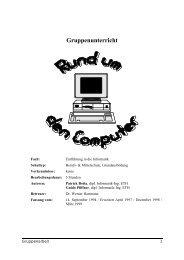 Rund um den Computer - PDF - SwissEduc