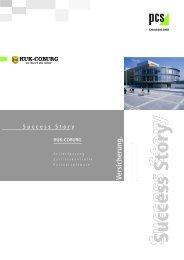 HUK Success Story - PCS Systemtechnik GmbH