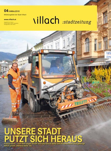 UNSERE STADT PUTZT SICH HERAUS - Villach