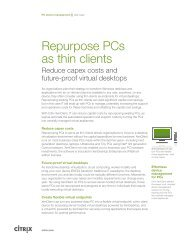 Case Study - Citrix VDI in a Box & NComputing Thin Clients