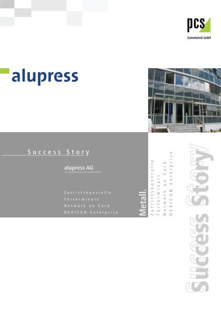 Success Story - PCS Systemtechnik GmbH