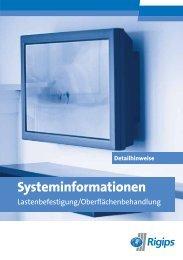 P+B Systeminformationen - Rigips