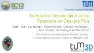 Turbulence Visualization at the Terascale on Desktop PCs - Nvidia