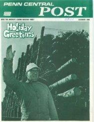 December 1968 - Unlikely Penn Central Railroad