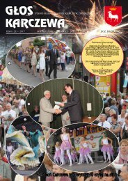 ISSN 1233 - 2917 MIESIĘCZNIK - CZErwIEC 2011 - Karczew, Urząd ...