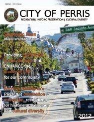 2012 Strategic Plan PDF - the City of Perris