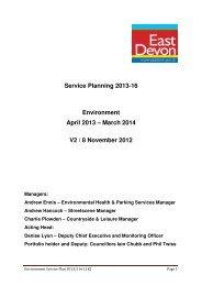Environment - East Devon District Council