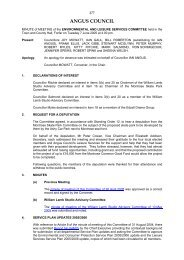 Minute of Meeting - 7 June 2005 - Angus Council