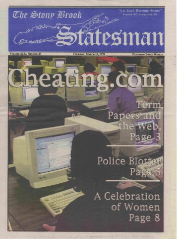 Statesman, V.42, n. 41.pdf - DSpace at - State University of New York