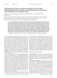 Alpinumisoflavone Induces Apoptosis and Suppresses Extracellular ...