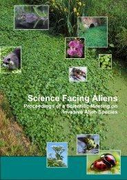 Science Facing Aliens - Invasive Alien Species in Belgium - Belgian ...