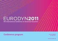 Conference program - International Conferences - KVIV