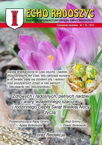 ECHO RADOSZYC - Radoszyce, Urząd Gminy