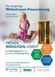 KREDIT - Volksbank Tirol Innsbruck-Schwaz AG