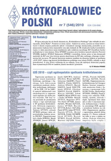 krótkofalowiec polski 07/2010 - Świat Radio
