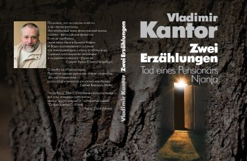 Vladimir Kantor _Zwei Erzahlungrn.pdf - Высшая школа экономики