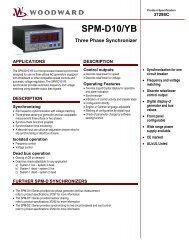 SPM-D10/YB Three Phase Synchronizer - DSF Technologies