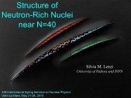 Structure of Neutron-rich Nuclei near N=40 - 10th International ...
