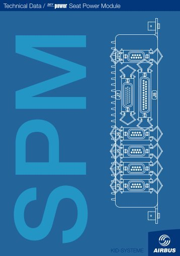 Technical Data / SkyPo Seat Power Module - Airbus KID-Systeme