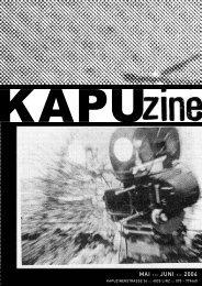 KAPUzine März/April 2004