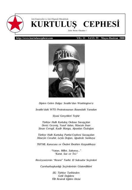 Kurtulus Cephesi Sayi 55 Mayis Haziran 2000