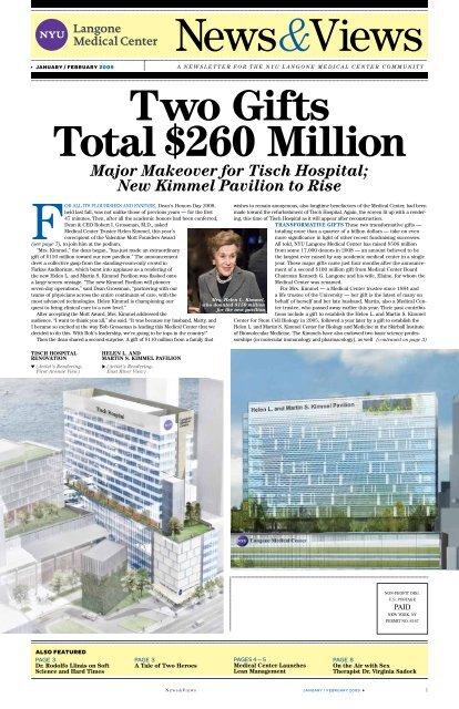 New Kimmel Pavilion - NYU Langone Medical Center