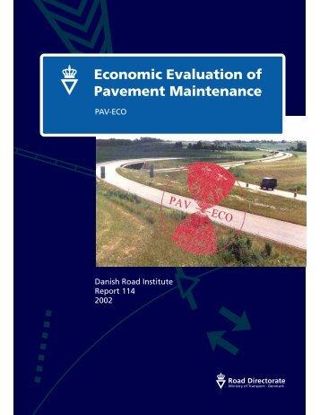 Economic Evaluation of Pavement Maintenance - Rahiran.ir