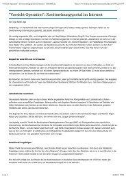 STIMME.de - Berufsverband Niedergelassener Chirurgen