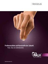 Prothesenzähne und Kunststoffe der Zukunft. Pala. Das ist ...