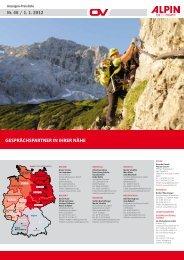 GESPRÄCHSPARTNER IN IHRER NÄHE Nr. 46 / 1. 1. 2012 - Alpin.de