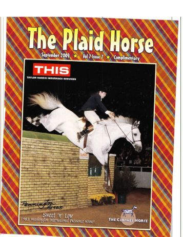 The Plaid Horse - September, 2009 - Phelps Media Group