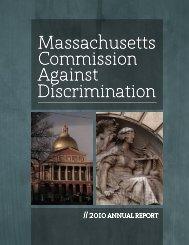 Against Discrimination Massachusetts Commission