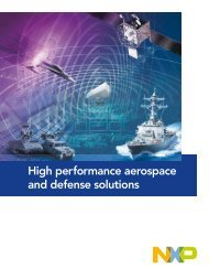 High performance aerospace and defense solutions - NXP.com