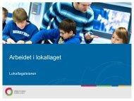 kommunen - Utdanningsforbundet