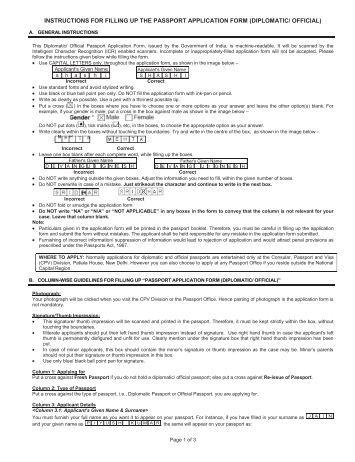 Passport application form ireland